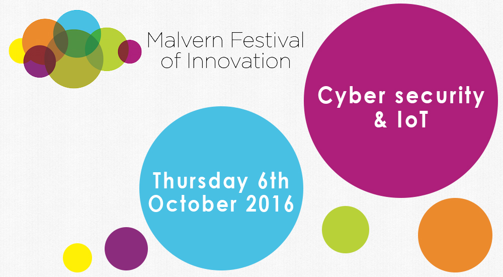 Cybersecurity and IoT – Malvern Festival of Innovation sponsors