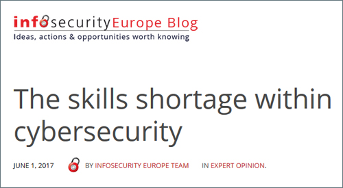 Infosecurity Europe Blog - The skills shortage within cybersecurity.jpg